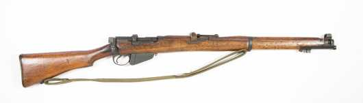 Enfield SMLE No. 1 Mk III* Infantry Rifle Serial Number 27466
