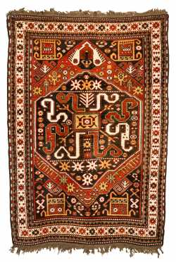 Kazak (Caucasus) Oriental Scatter Rug