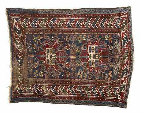 Kuba (Caucasus) Oriental Scatter Rug
