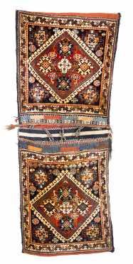Pair of Qashqai Saddle Bags
