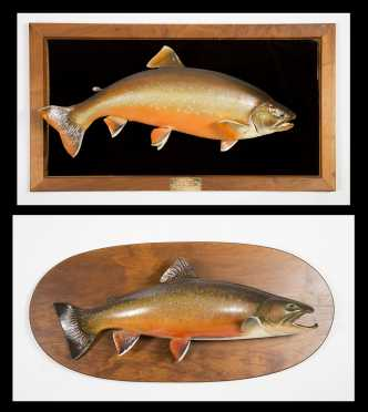 Two Fish Mounts- Arctic Char