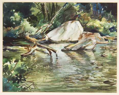 Ogden Minton Pleissner, Vermont/ NY (1905-1983)