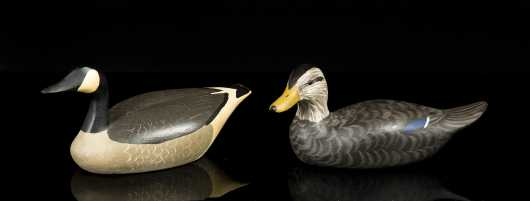 Miniature Black Duck By Herb Daisey Jr.