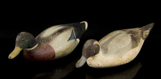 Two Downeast Decoys