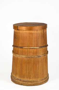 Staved Barrel