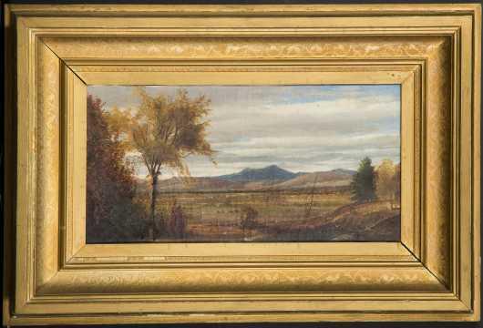 White Mountain School Oil Painting
