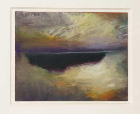 Jules Olitski, NY (1922-2007)