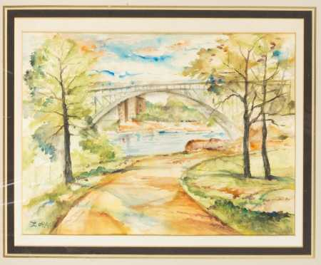 Marguerite Zorach, NY, ME, CA (1887-1968) *AVAILABLE FOR $950.00*