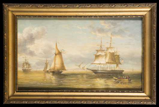 American Clipper Ships Painting