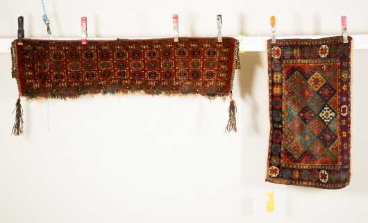 Assari Trapping and Kurd Bagface Oriental Rugs