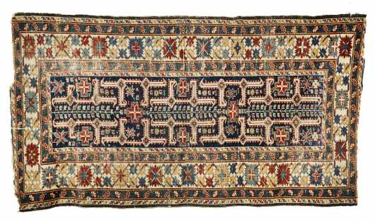 Late 19thC Shirvan Scatter Size Oriental Rug