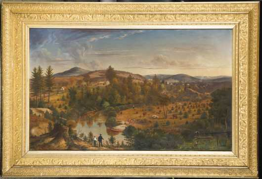 W.A. King, NH, Mass, VT, Unknown 19thC artist