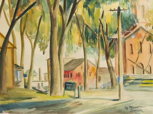 Gouri Ivanov-Rinov, Dublin, NH (1902-1966)