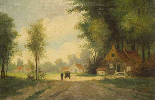 Joseph W. Gies, Michigan/France (1860-1935)