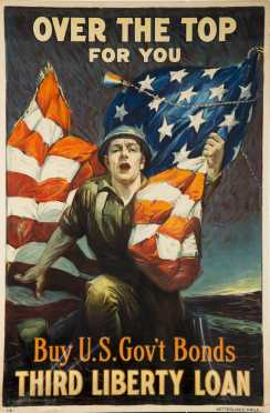 WWII US Bonds Poster