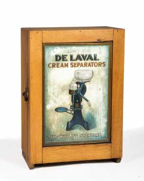 """De Laval"" Country Store Display Cabinet"