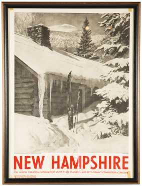 """""""Mount Washington From A.M.C. Pinkham Notch Camp"""" Poster"""