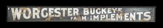 Worcester Buckeye Farm Implements