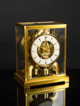 """Le Coultre Atmos"" Clock with Case"