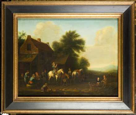 School of Barent (Barend) Gael, Netherlands (1630-1698) *AVAILABLE FOR $550*