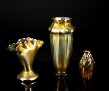 L.C.T Favrile Vase