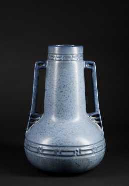 Hampshire Pottery Double Handled Vase