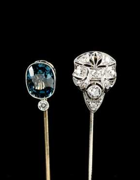 Two Edwardian Stick Pins