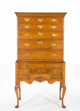Married Rhode Island Queen Anne Highboy