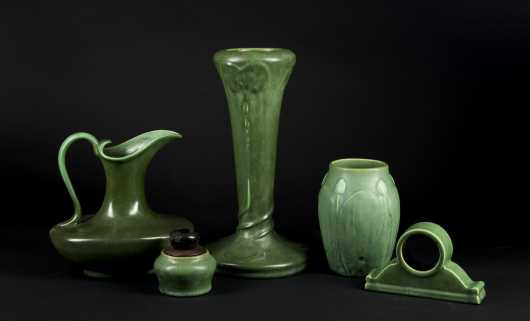"""Hampshire Pottery"" Miscellaneous Lot"