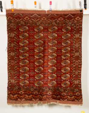 Tekke Bokhara Oriental Scatter Rug