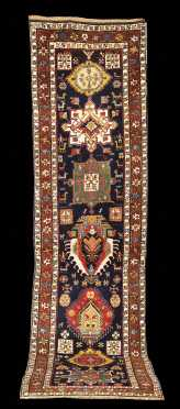 Caucasian Oriental Rug Runner