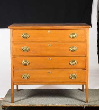 NH Hepplewhite Four Drawer
