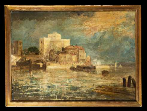 School of J.M.W. Turner Bay of Naples