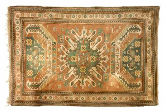 Eagle Kazak Oriental Scatter Rug