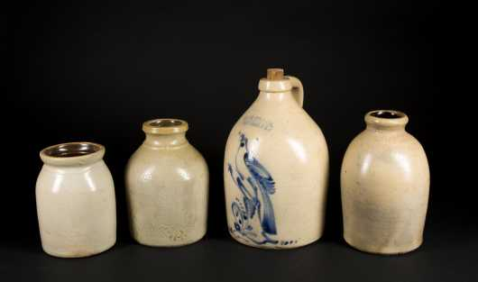 Four Stoneware Pieces