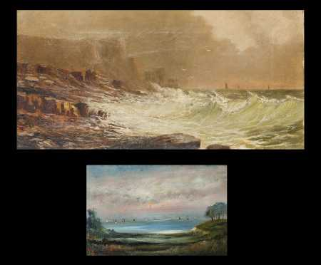 Two New England Coastal Paintings