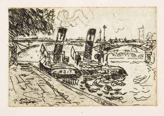 Paul Victor Jules Signac, France (1863-1935) Etching