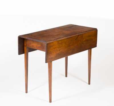 Cherry Hepplewhite Pembroke Table