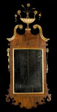 American L18thC Chippendale Mirror
