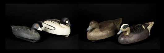 Four Duck Decoys