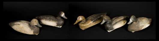 Five Duck Decoys