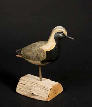 Carved Shore Bird