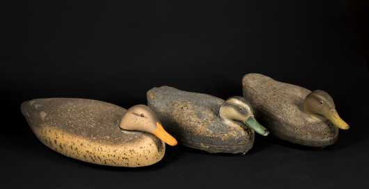Three Cork Body Decoys