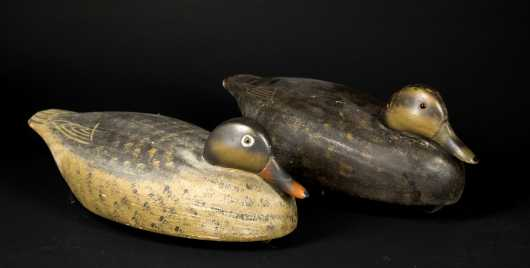 "Pair of ""Wildfowler Decoys"""