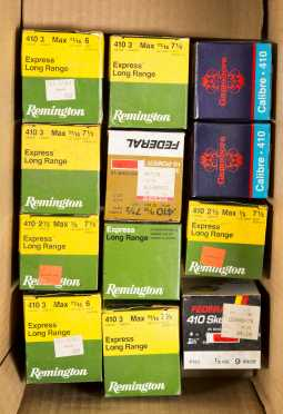 Lot of Boxes of .410 Ammo