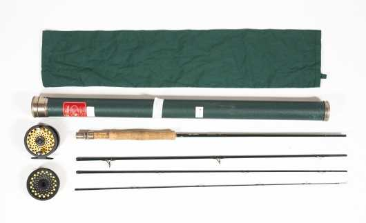 L. L. Bean SPT (Smooth Power Transfer) Four Piece 9' Graphite Rod for #8 Line