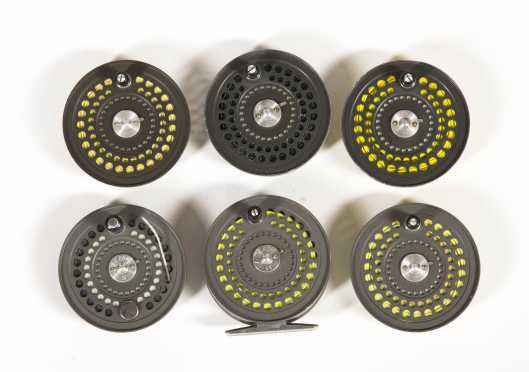 Orvis CFO IV Trout Reel with Five Extra Spools
