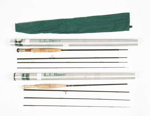 Two L. L. Bean Graphite Rods