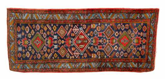 Heriz District Runner Oriental Rug