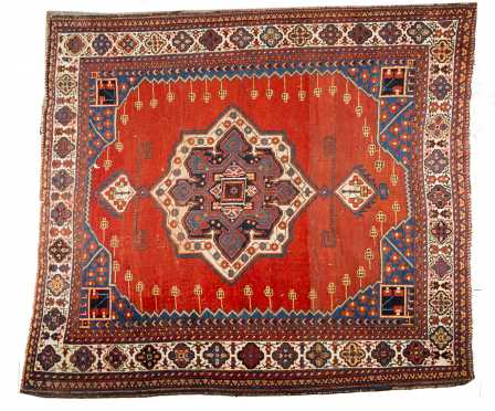 Persian Tribal Scatter Oriental Rug
